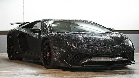 Lamborghini Covered In Two Million Crystals | RIDICULOUS RIDES