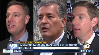 Lawmakers to see new process for asylum seekers