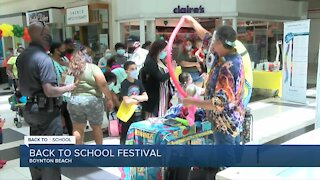 Back-to-school fun at the Boynton Beach Mall