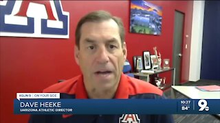Dave Heeke: We're disappointed to not have fans