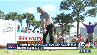 Jupiter resident Morgan Hoffmann using golf to find a cure for muscular dystrophy - Video