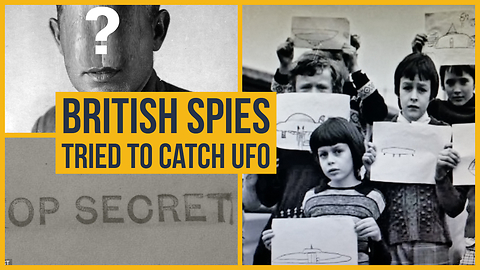 British spies tried to catch UFOs to steal ETI technology