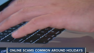 Online scamming, stealing tend to rise during holiday season - Video