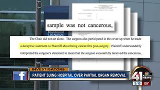 Patient: KU Health System covered up mistake - Video