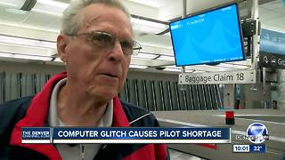 Computer glitch causes pilot shortage - Video