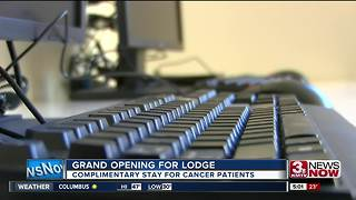 Lodge offers complimentary stay for cancer patients - Video