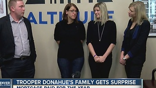 Trooper Donahue's family gets surprise - Video