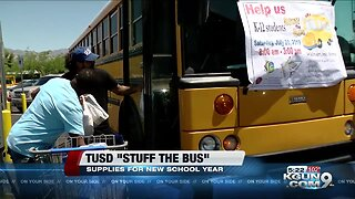 TUSD holds stuff the bus