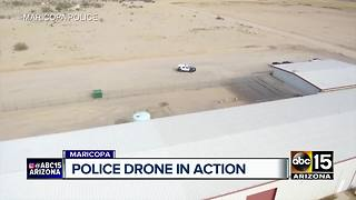 Maricopa police using drones to assist officers - Video