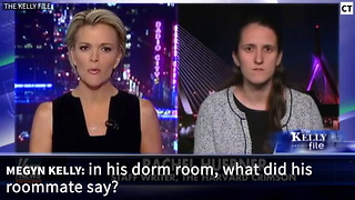 WATCH: Megyn Kelly's Crew Can't Contain Laughter After What Harvard Student Says - Video