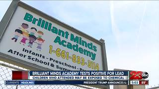 Public Health warning of lead exposure at local preschool - Video