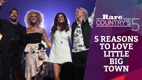 Five Reasons to Love Little Big Town   Rare Country's 5