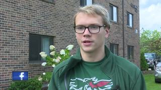 Before moving to Green Bay, this UWGB freshman rescued Harvey victims in Houston