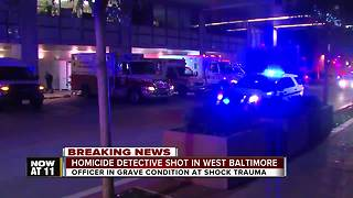 Officer down: Police involved shooting in West Baltimore - Video