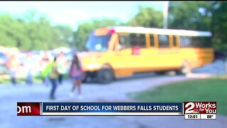 Webbers Falls schools back in session after flood damageo