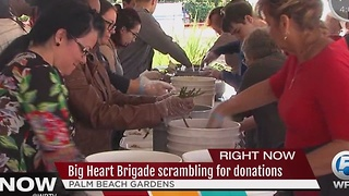 Big Heart Brigade scrambling for donations - Video