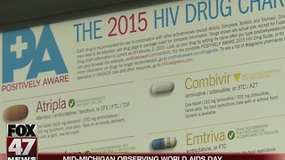 Free HIV testing on World AIDS Day in mid-Michigan - Video