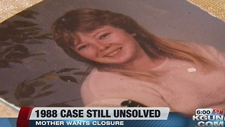 1988 case still unsolved, victim's mother wants closure - Video