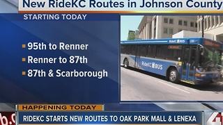 RideKC extends Johnson County bus service - Video