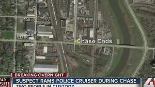 Wild police chase from Independence to KCMO lands 2 people in custody