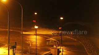 Storm Dylan hits the west coast of Ireland - Video