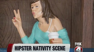 Hipster Nativity Scene - Video