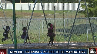 Florida Legislature to again debate mandatory recess - Video