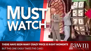 There Have Been Many Crazy Price Is Right Moments, This Easily Takes The Cake - Video