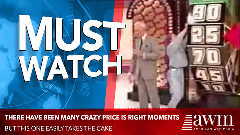 There Have Been Many Crazy Price Is Right Moments, This Easily Takes The Cake
