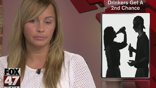 Underage drinkers could get second chance - Video