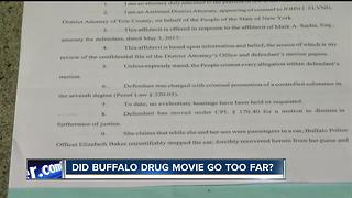 Did Buffalo drug crisis movie go too far with use of real drugs? - Video