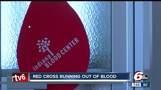 Indiana blood shortage threatens hospital supplies - Video