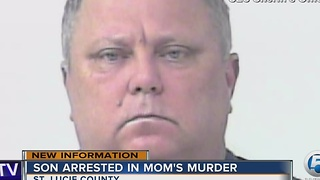Son arrested in mom's murder - Video