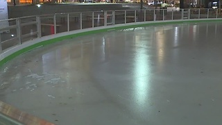 Cleveland Foundation Skating Rink in Public Square opens for the season - Video