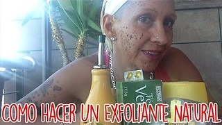 Como Hacer Un Exfoliante Natural - Video