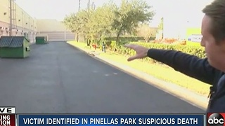 Victim identified in Pinellas Park suspicious death - Video