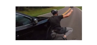 Dramatic Video Captures Moment Cyclist Was Struck in Hit-and-Run - Video