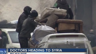 Local doctors to aid in Syrian relief efforts - Video