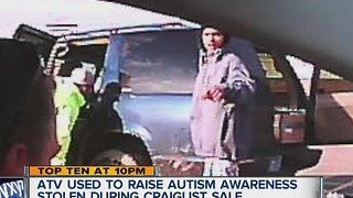 Autism awareness ATV stolen - Video