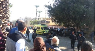 Bomb Attack in Giza Leaves 6 Police Officers Dead - Video