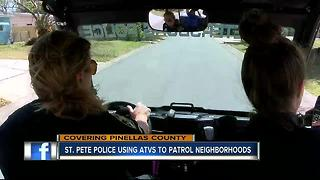 St. Pete Police use 4-wheelers to catch crooks - Video