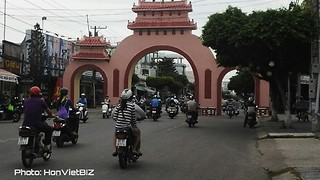 Rach Gia City in Kien Giang Province - South Vietnam  - Video