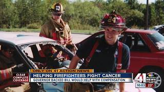 Firefighter's cancer death highlights big issue - Video