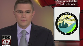 Grant will continue aid to Flint schools - Video