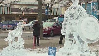 Plymouth Ice Fest this weekend - Video