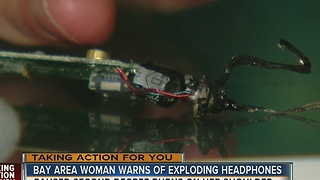 EXCLUSIVE: Earphones Exploded in Plant City Mother's Ear While she was wearing them - Video