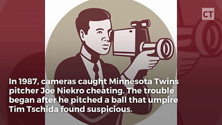 Cameras Catch Pitcher Cheating Red-Handed