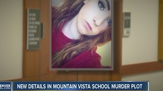 New details in Mountain Vista High School murder plot - Video