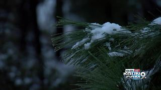 Mount Lemmon reopens after being closed at the base due to weather conditions - Video