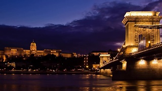 Stunning hyperlapse featuring Budapest, Hungary - Video